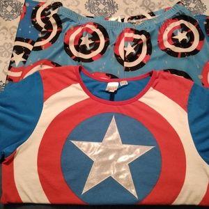 Marvel pajamas